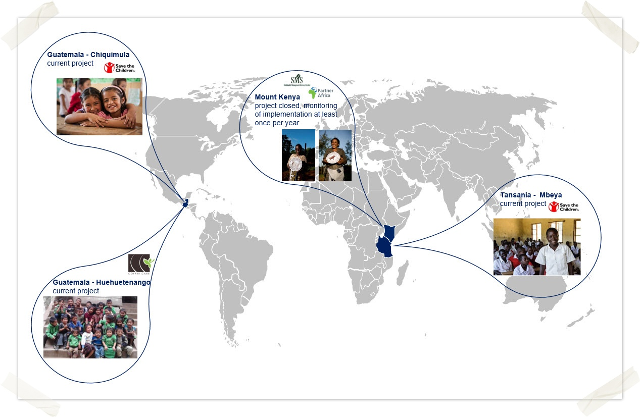 Visual of Social projects inc save the children