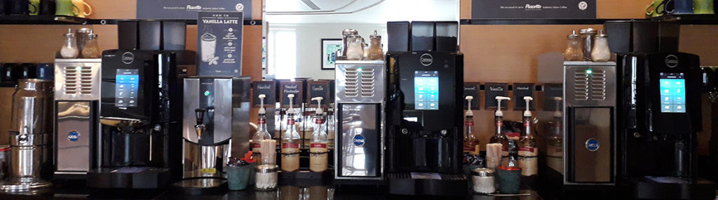 hotel coffee machine bean to cup