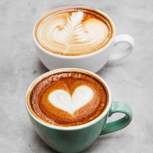 plant based lattes
