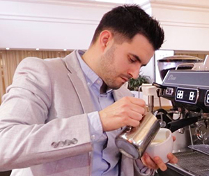 Mark Hodovan coffee excellence trainer